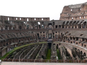The Colosseum Amphitheatre Rome